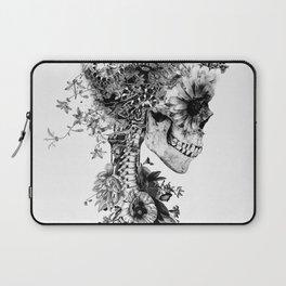 Skull BW Laptop Sleeve