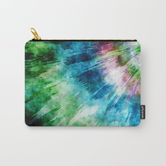 Abstract Grunge Tie Dye Carry-All Pouch