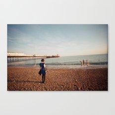 Staring at the Sea #2 Canvas Print