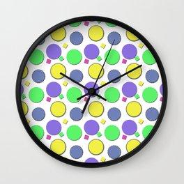 PASTEL CIRCUS CIRCLES  Wall Clock