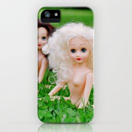 Where the Grass is Greener iPhone Case