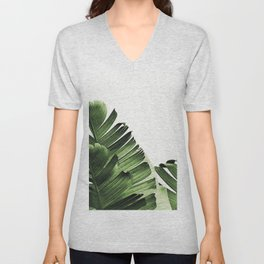 Banana leaf Unisex V-Neck