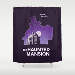 Hatbox Ghost - Land Shower Curtain