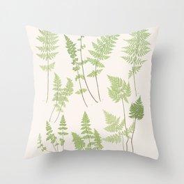 Ferns #1 Throw Pillow