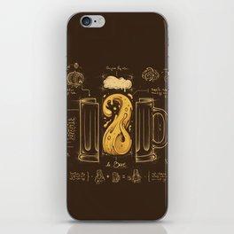 Le Beer (Elixir of Life) iPhone Skin
