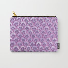 Lilac Mermaid Tail Carry-All Pouch