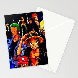 crew of mugiwara Stationery Cards