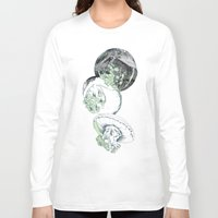 jelly fish Long Sleeve T-shirts featuring Jelly Fish by Eleanor V R Smith