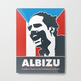 Albizu Campos - El Maestro Metal Print