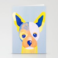 chihuahua Stationery Cards featuring Chihuahua  by Adriannedesignss