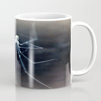alien Mugs featuring ALIEN by  Agostino Lo Coco