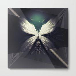 Almost Butterfly Metal Print