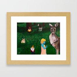 Ephemeral Innocence Woodland Nature Art Framed Art Print
