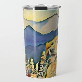 Mountain Dog 2 Travel Mug