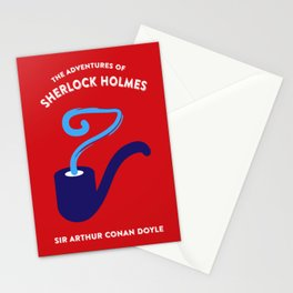 The Adventures of Sherlock Holmes Stationery Cards