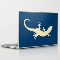 lizard Laptop & iPad Skins featuring Lizard by Abundance