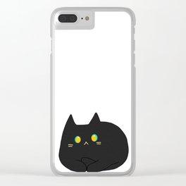 cat 42 Clear iPhone Case