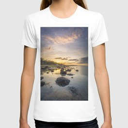 Sunset The Rockery Isle of Wight T-shirt