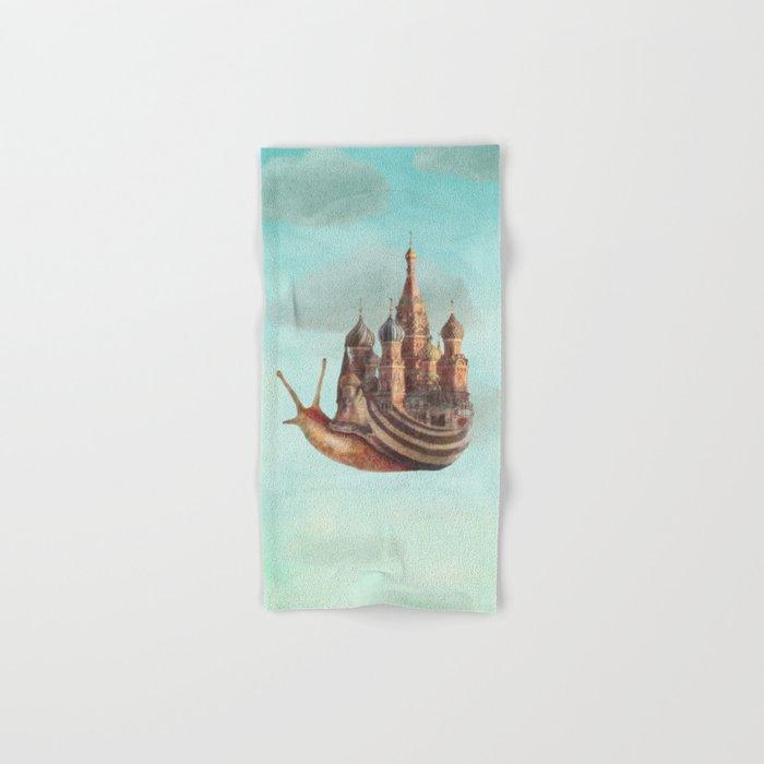The Snail's Daydream Hand & Bath Towel