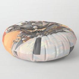 Venusian Habitat Floor Pillow