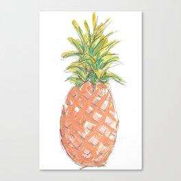 Island Fresh Pineapple Canvas Print