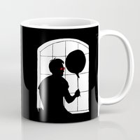 daredevil Mugs featuring Daredevil by Boring Palace
