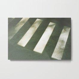 porch, shadows. Metal Print