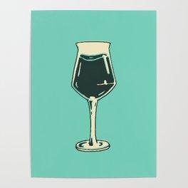 Teku Glass Poster Poster