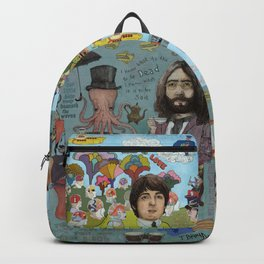 Lonely Hearts, Rubber Soul & Magical Yellow Submarine Tour Backpack
