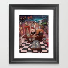 Mr. Chudderley's Shop of Curiosities Framed Art Print