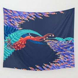 Dancing monster Wall Tapestry