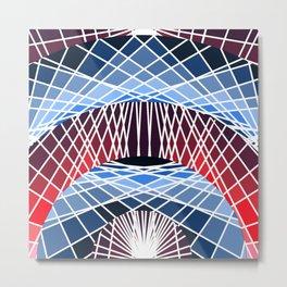 Oculi Transparent Metal Print