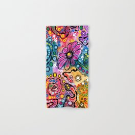 """Tie-Dye Wonderland"" Hand & Bath Towel"