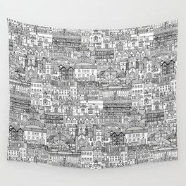 Cambridge toile mono Wall Tapestry