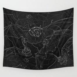 Bat Attack Wall Tapestry