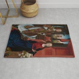 "Hans Memling ""The Annunciation"" (1465–70) Rug"