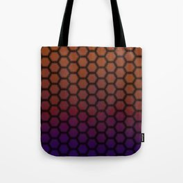 Insta gradient hexagons Tote Bag