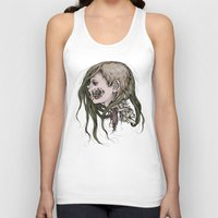 gore Tank Tops featuring Gore Girl by Savannah Horrocks