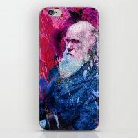 darwin iPhone & iPod Skins featuring Darwin by Angelo Lo Presti