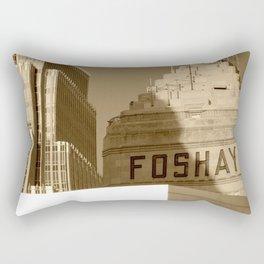Foshay Tower Rectangular Pillow