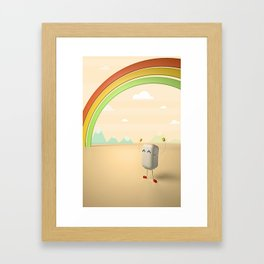 Mr. Marsh Framed Art Print