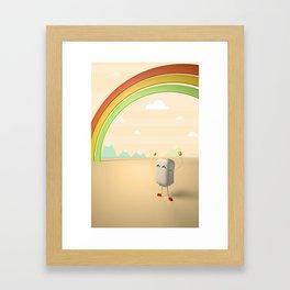 Mr. Marsh Framed Art Print