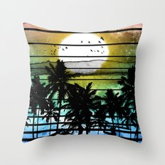 VIVID STRIPES Throw Pillow