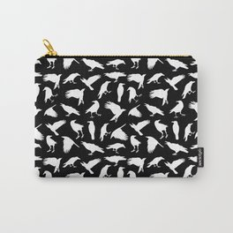 Raven Pattern Carry-All Pouch