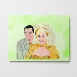 Dolly and P.W. Metal Print