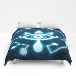 The blue eye Comforters