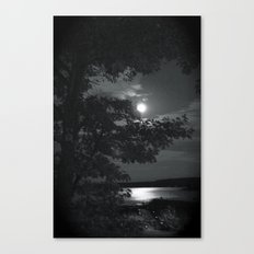 Blue Moon Canada Canvas Print