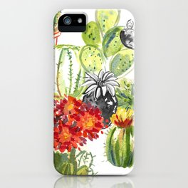 C is for Cacti iPhone Case