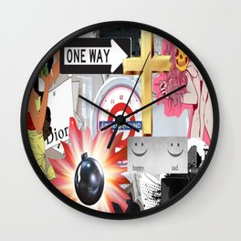all the BS. Wall Clock