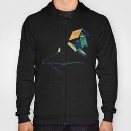 Flying Bird...house Hoody